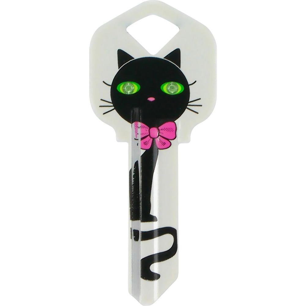 #66 DIVA Black Cat House Key