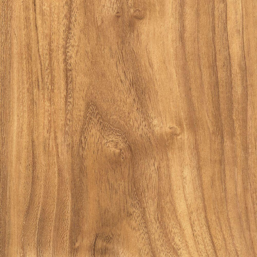 Home Legend Take Home Sample - Embossed Teak Harbor Vinyl Plank Flooring - 5 in. x 7 in.