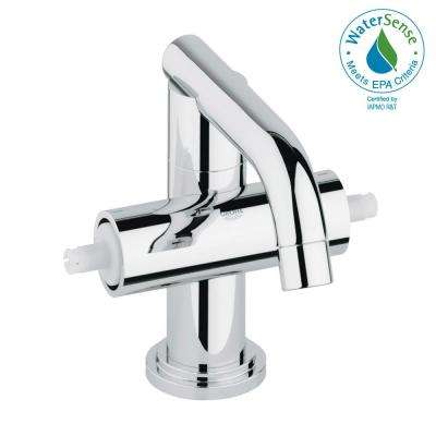 Atrio Single Hole 2-Handle 1.2 GPM Bathroom Faucet in StarLight Chrome