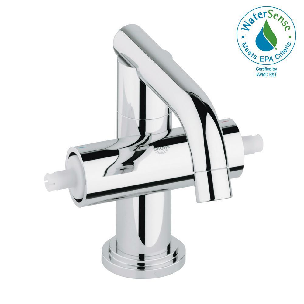 Atrio Single Hole 2-Handle 1.2 GPM Bathroom Faucet in StarLight Chrome