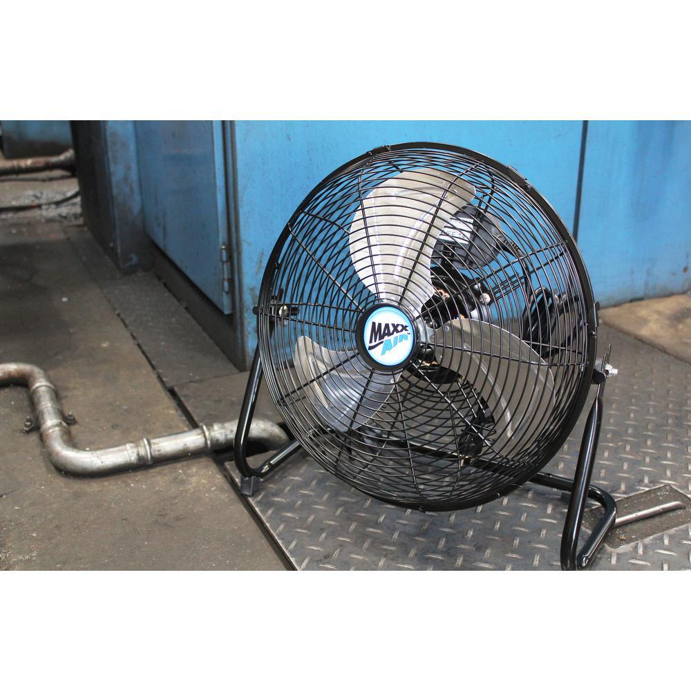 MaxxAir HVFF14UPS 14-Inch High Velocity 3-Speed Floor Fan