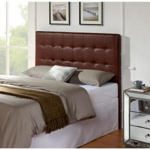 buy online b3acb abbb5 Andez Vintage Faux Leather California King and Eastern King Headboard
