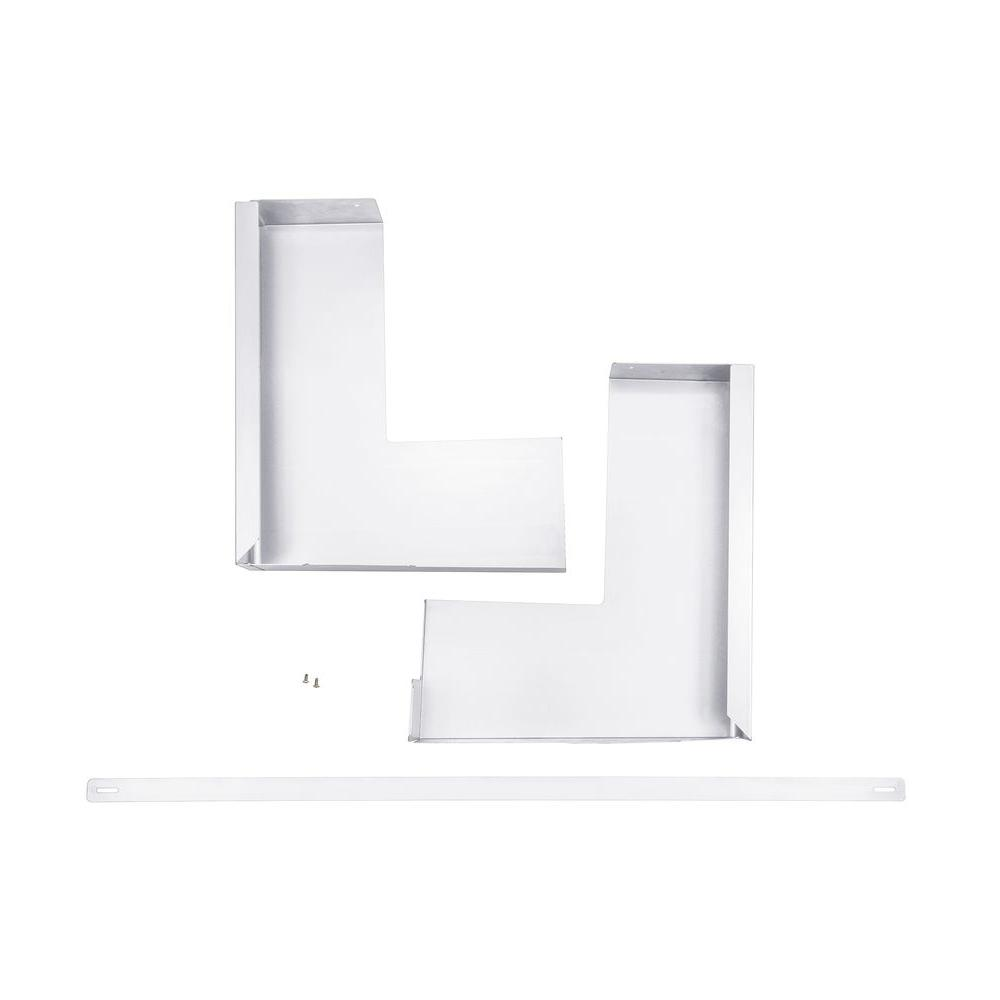 GE 36 in. Over-the-Range Trim Kit in White