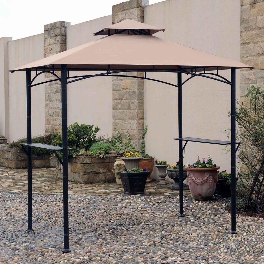 Sunjoy Replacement Canopy Set For Hb Tiki Grill Gazebo