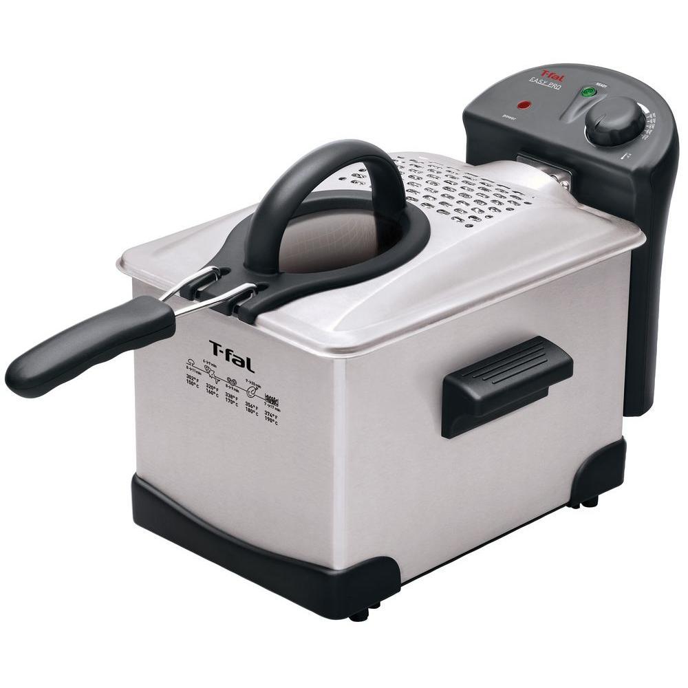 T-Fal Easy Pro 3 l Deep Fryer in Stainless Steel