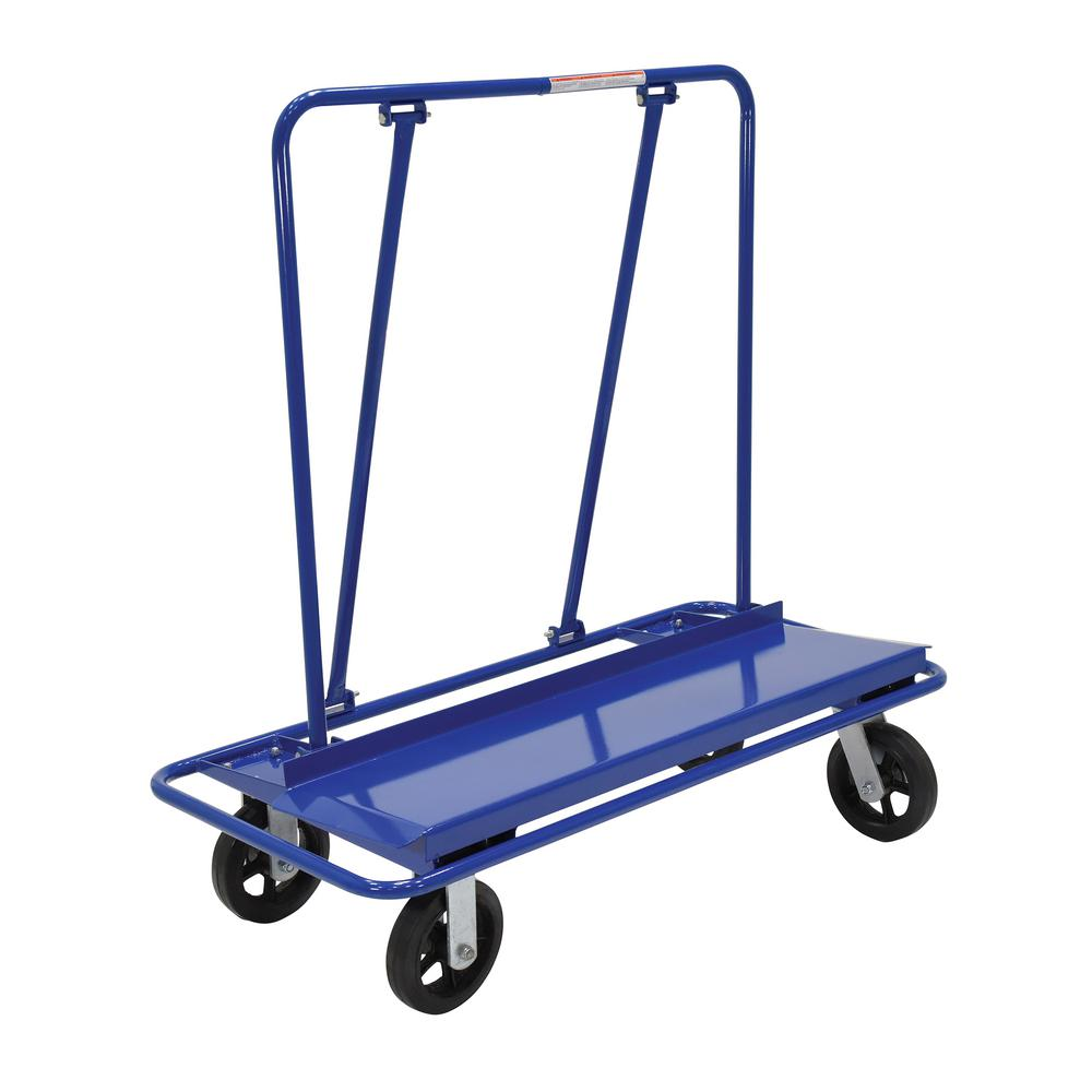 Vestil 3,000 lb. Capacity Drywall/Panel Cart with Rubber ...