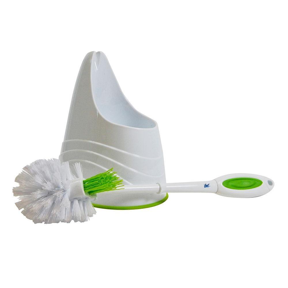 Toilet Bowl Plastic Brush and Holder