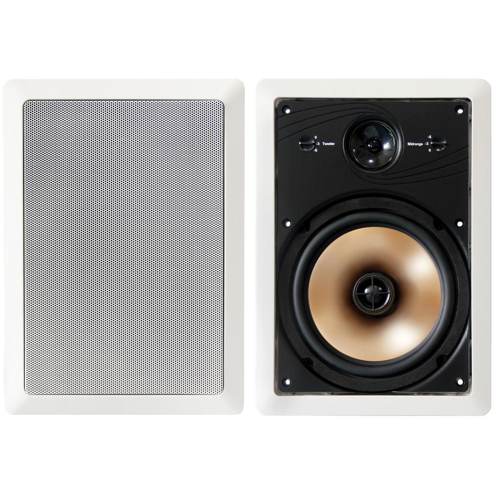Acoustech 8 in. 3-Way In-Wall Speakers