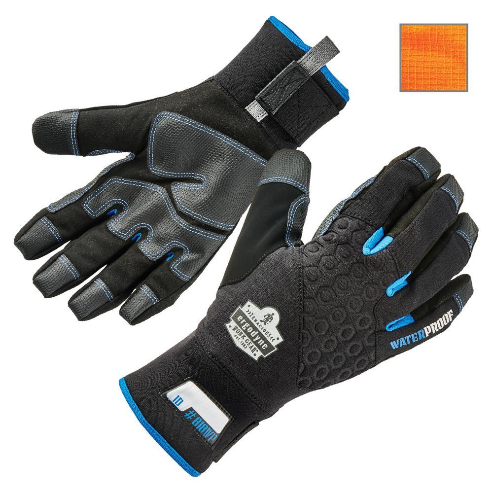 ProFlex 818WP Medium Black Performance Thermal Waterproof Utility Gloves