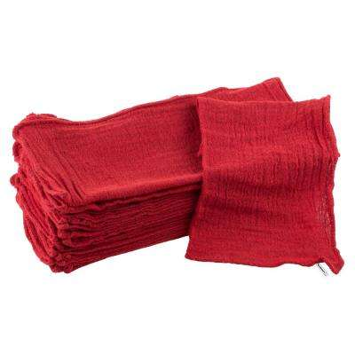 Auto Shop Cotton Rags (25-Pack)