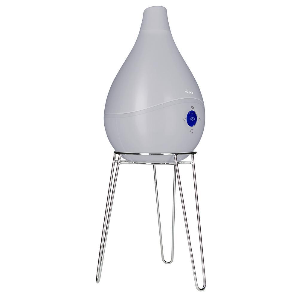 1.5 Gal. Drop Ultrasonic Cool Mist Humidifier, Grey