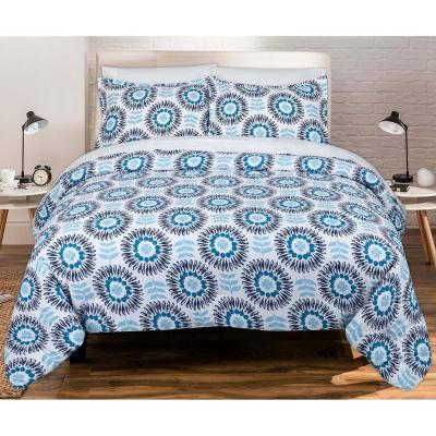 Scandi Floral Full and Queen Comforter Set