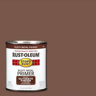1 qt. Flat Rusty Metal Primer (2-Pack)