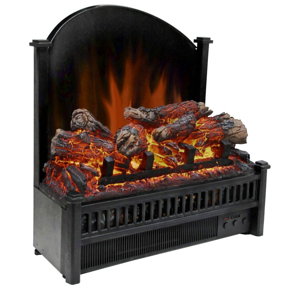 23 In. Electric Fireplace Insert