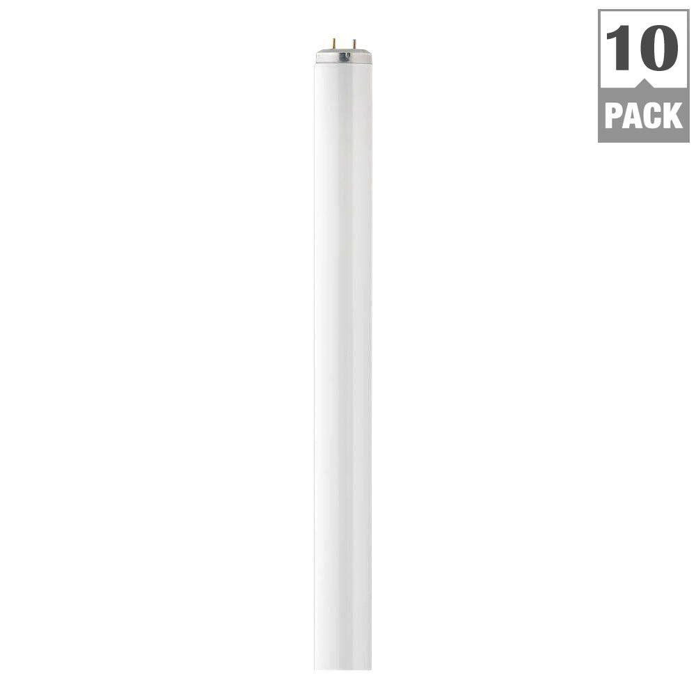 Philips 40-Watt 4 ft. T12 Linear Fluorescent Light Bulb Natural ...