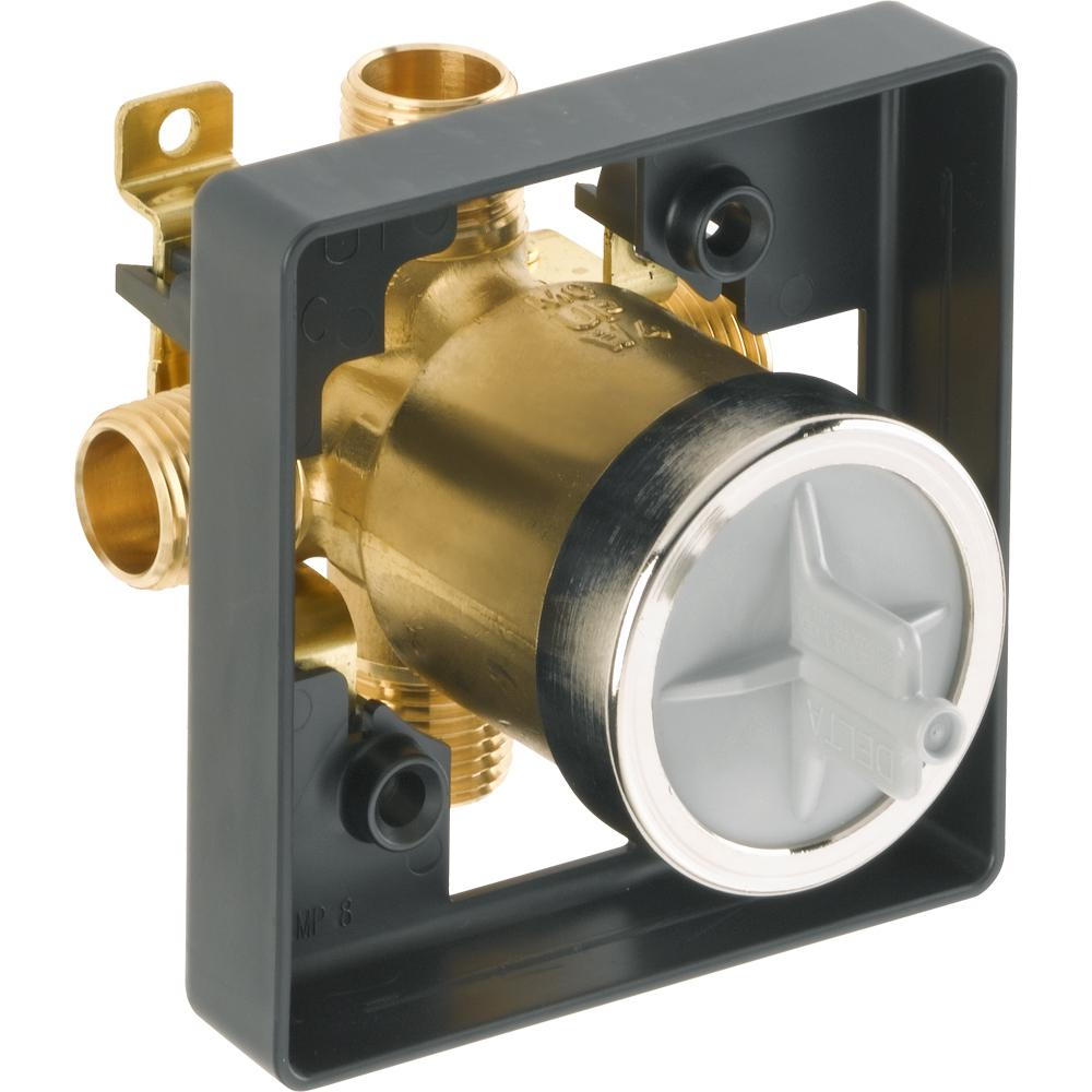 Delta Shower Valve.Delta Multichoice Universal Tub And Shower Valve Body Rough In Kit