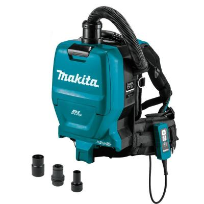 Makita 18-Volt X2 LXT Lithium-Ion 36-Volt Brushless Cordless 1/2 Gal. HEPA Filter Backpack Dry Vacuum (Tool Only)