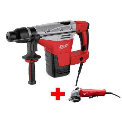 1-3/4 in. SDS-Max Rotary Hammer with Free 11 AMP 4-1/2 in. Angle Grinder