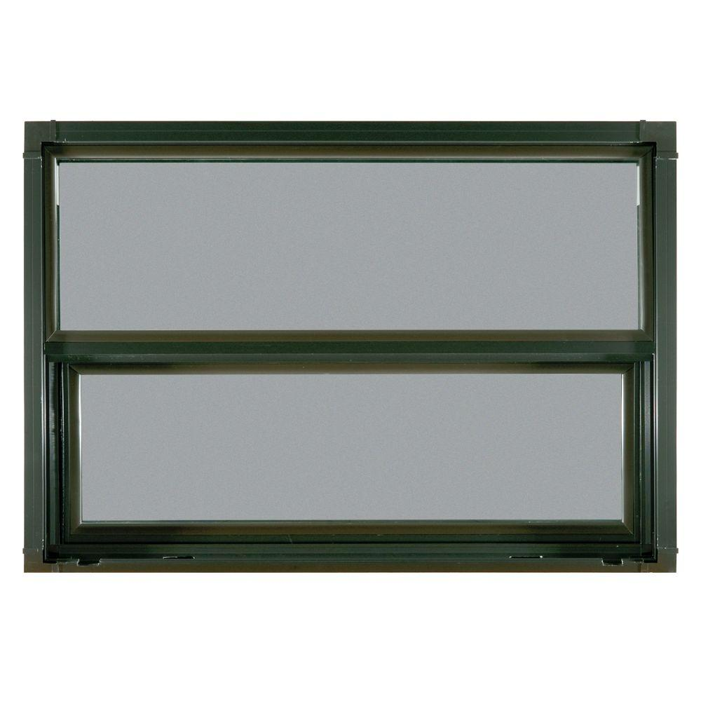 JELD-WEN Builders Atlantic Single Hung Aluminum Window-DISCONTINUED