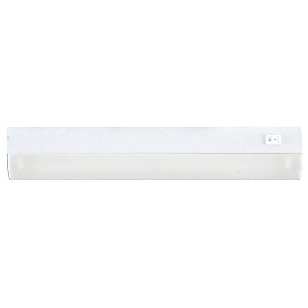 GE 18 in. Fluorescent Premium Linkable White Undercabinet Light