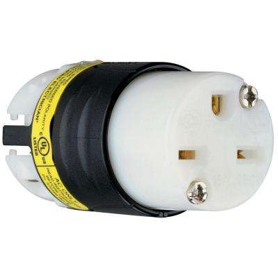 15 Amp 250-Volt Ground Circuit Monitor Connector