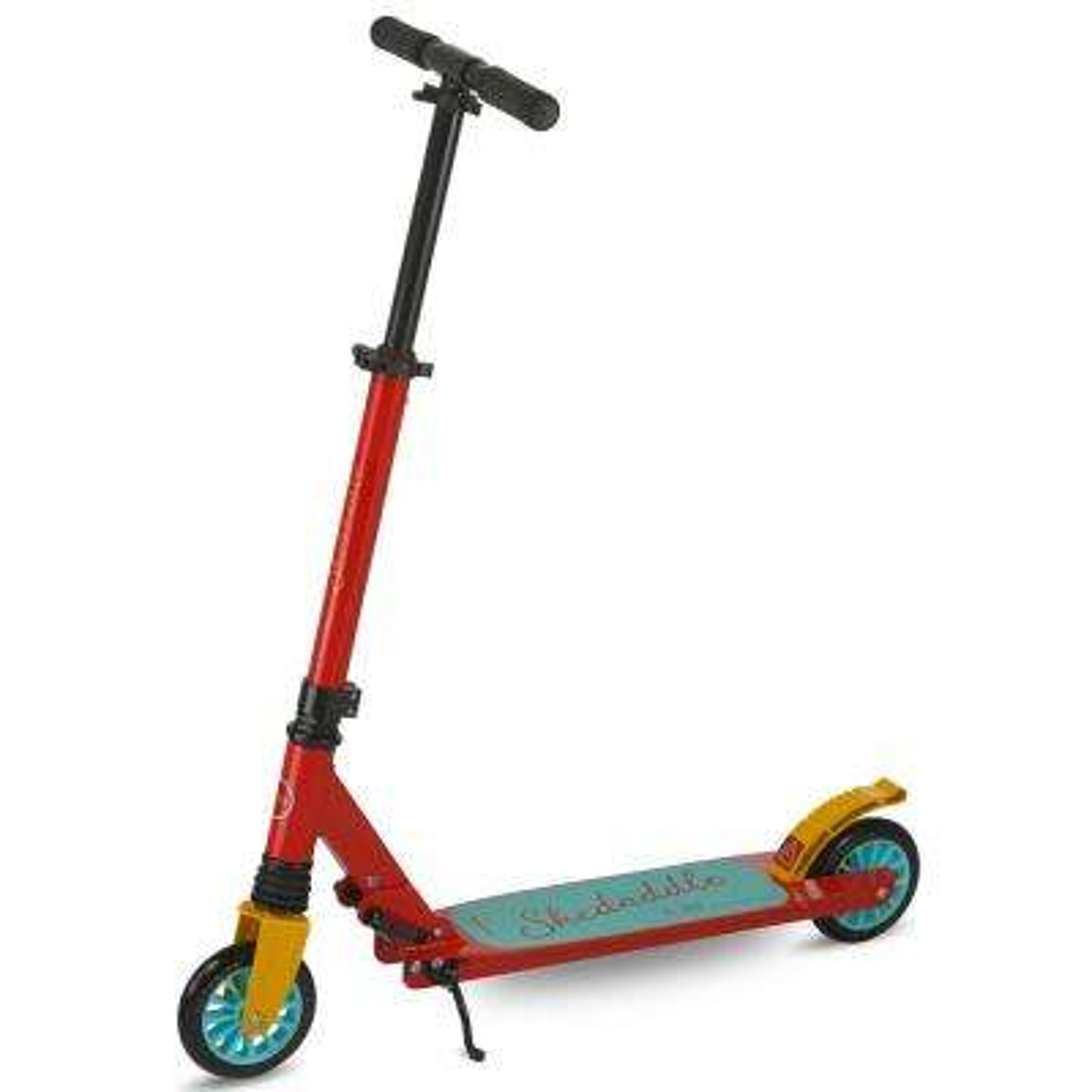 Skedaddle S-30 Premium Folding Kids Kick Scooter in Red