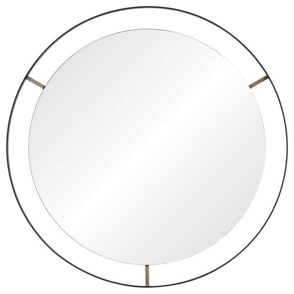 Renwil Jericho 30.5 in. x 30.5 in. Framed Wall Mirror MT1858