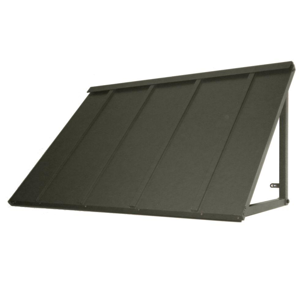 4 ft. Houstonian Metal Standing Seam Awning (24 in. H x