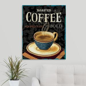 Today S Coffee Iv By Lisa Audit Canvas Wall Art