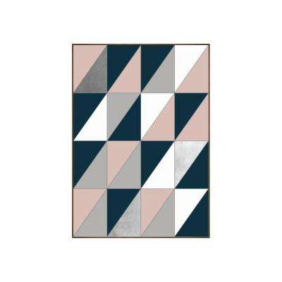"35.25 in. x 25.25 in. ""Divided"" by Bobby Berk Printed Framed Wall Art"