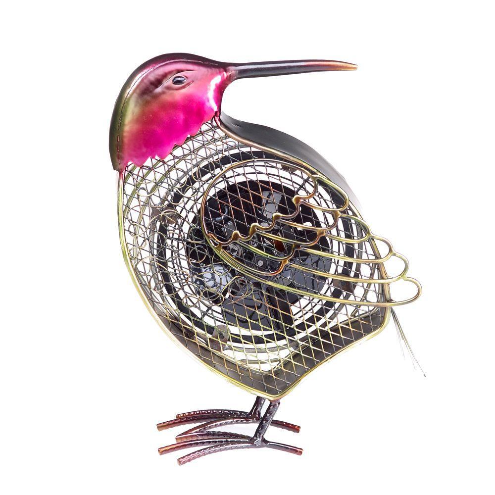 7 in. Figurine Fan-Hummingbird Small