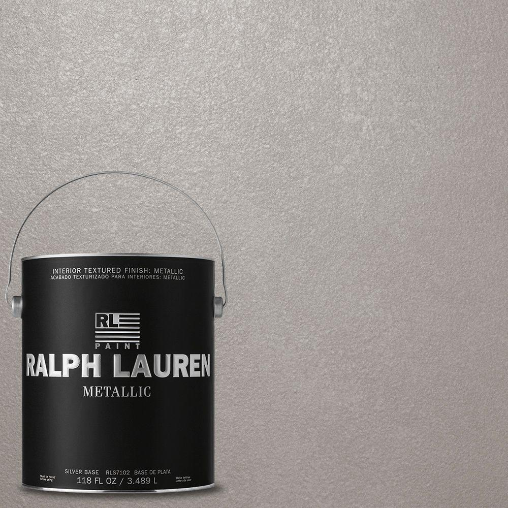 Ralph Lauren 1-gal. Silver Plated Silver Metallic Specialty Finish Interior Paint
