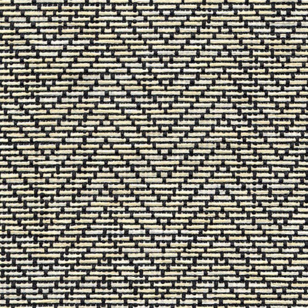 Magic Cover Natural Weave Black and Ivory Zig Zag Shelf Liner (Set of 6)
