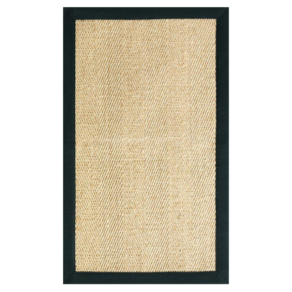 Home Decorators Collection Marblehead Sisal Black 9 Ft X 12 Ft Area Rug 0291050210 The Home