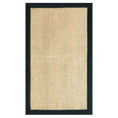 Marblehead Sisal Black 9 ft. x 12 ft. Area Rug