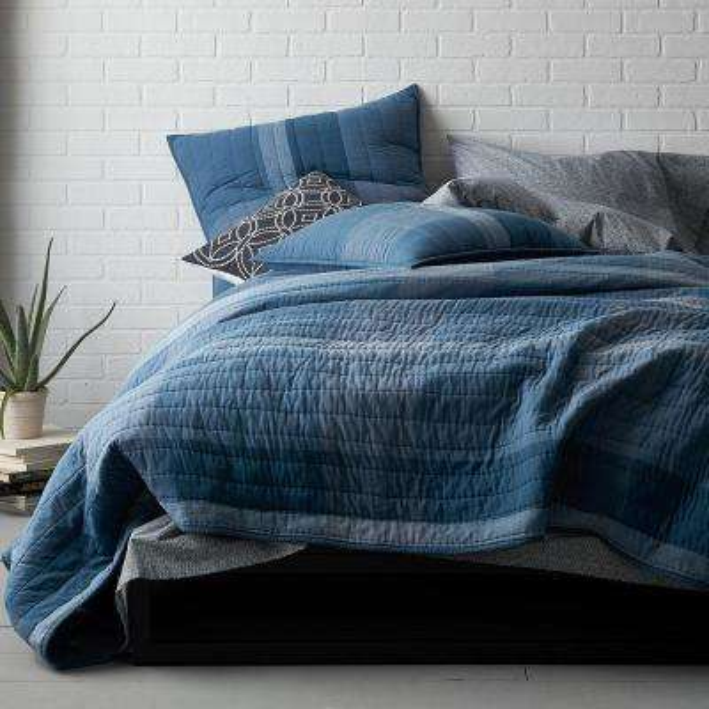 Midnight Blue King Quilt