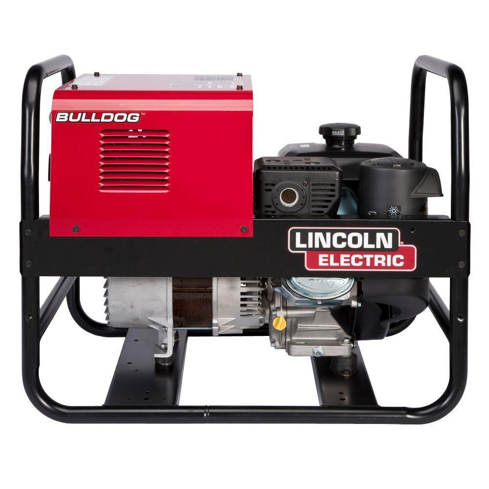 Lincoln Electric 140 Amp Bulldog 5500 Gas Engine Driven AC Stick Welder,  5 5 kW Peak Generator (Kohler)