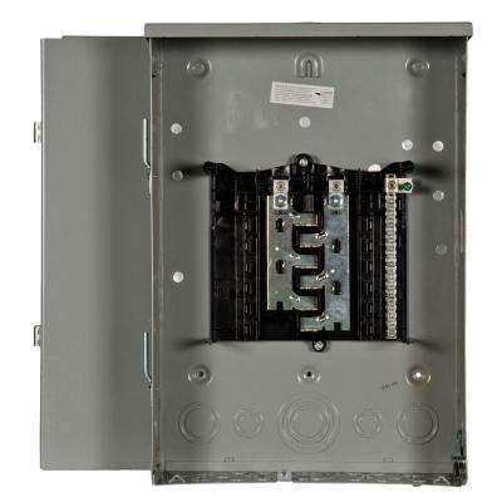 ES Series 125 Amp 12-Space 24-Circuit Main Lug Outdoor Load Center