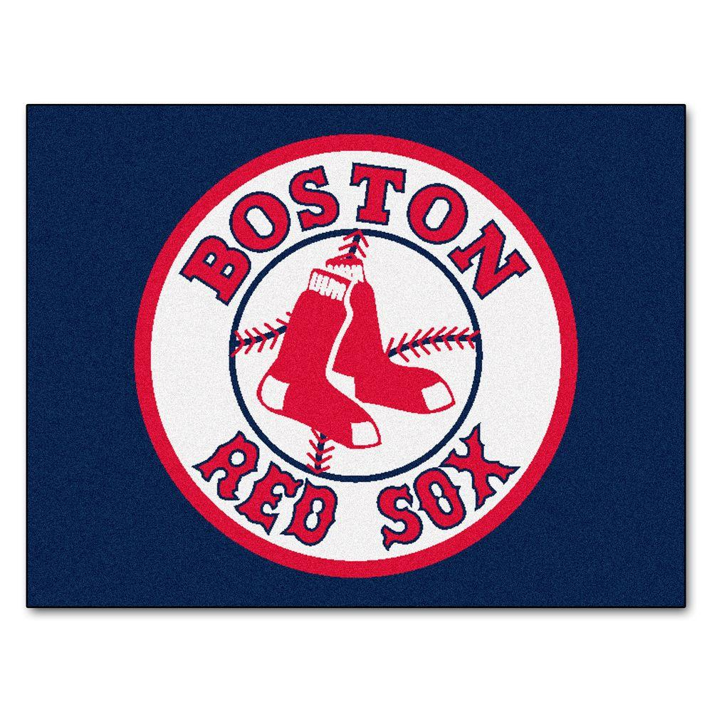 Fanmats Boston Red Sox 3 Ft X 4 All Star Rug
