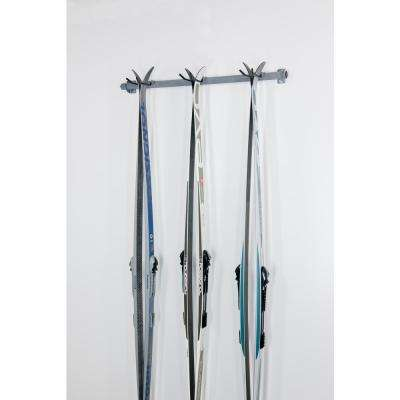 35 in. W Cross Country 3-Ski Rack