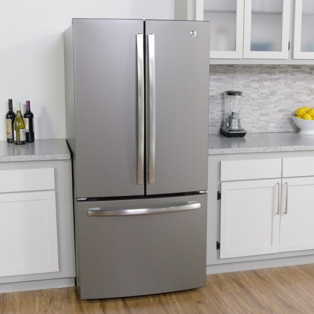 DETAILS. 33 In. W 24.8 Cu. Ft. French Door Refrigerator In Slate