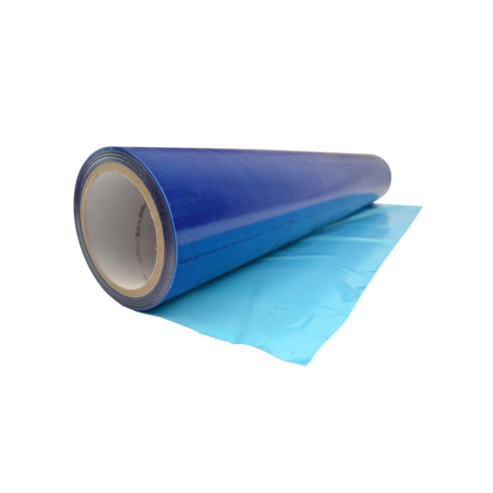 window shield 24 in x 250 ft blue self adhesive window protection film w2b24250 the home depot. Black Bedroom Furniture Sets. Home Design Ideas
