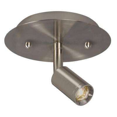 Hudson 1-Light Brushed Nickel Track Lighting Kit