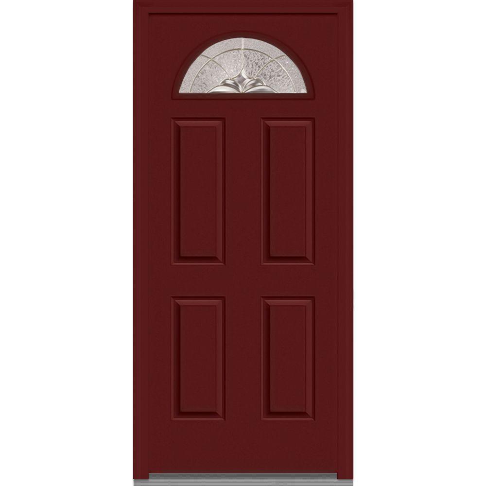 4 Panel 34 X 80 Front Doors Exterior Doors The Home Depot