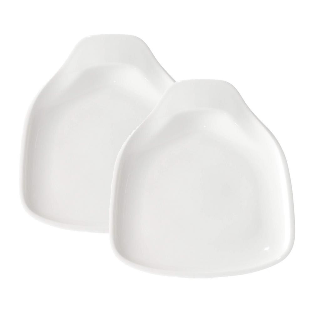 BBQ Passion White Dessert Plates (Set of 2)