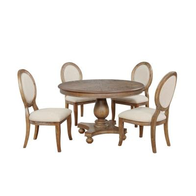 Pedestal Dining Room Sets Kitchen Dining Room Furniture The Home Depot