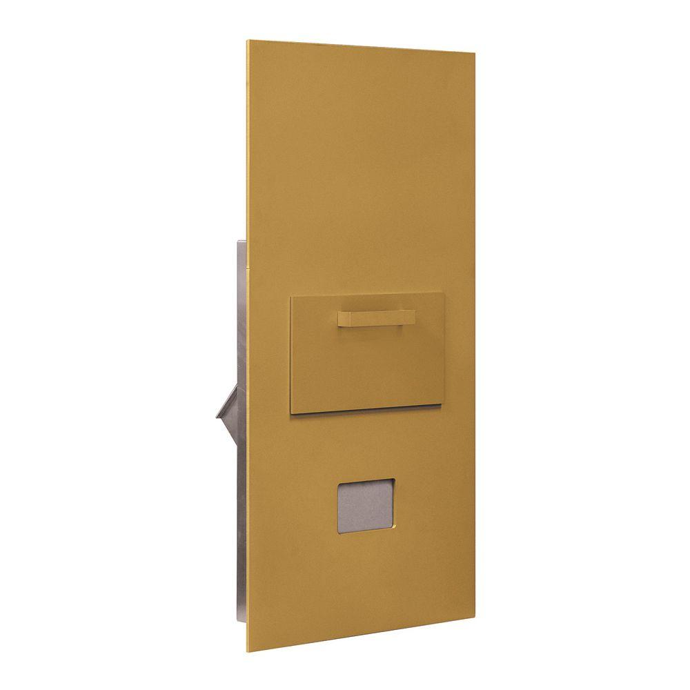 3600 Series Collection Unit Gold Private Rear Loading for 7 Door