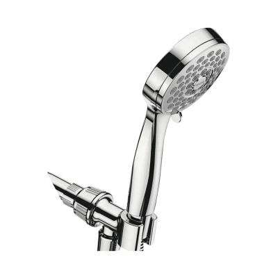 Eos 3-Spray 4 in. 1.75 GPM Handheld Shower in Chrome