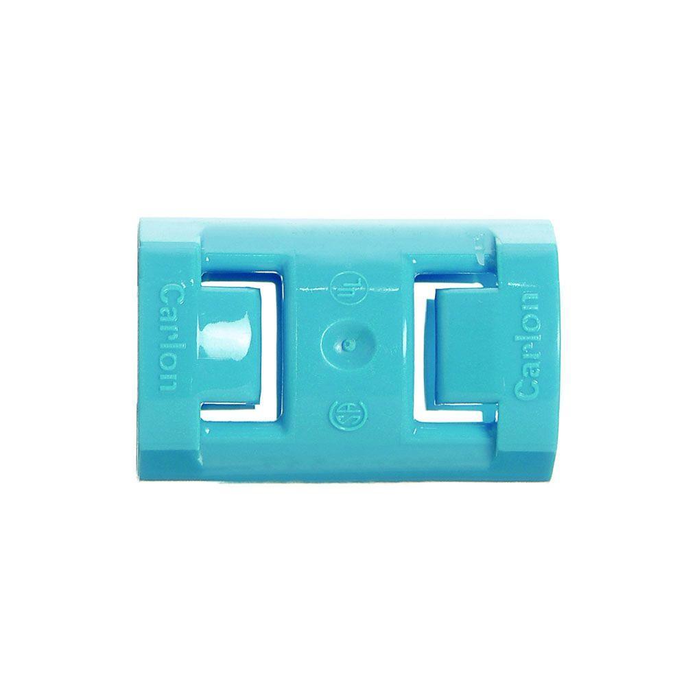 Carlon 1/2 in. PVC ENT 1-Piece Coupling (Case of 6)