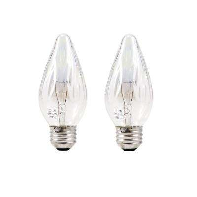 40-Watt F Incandescent Light Bulb (2-Pack)